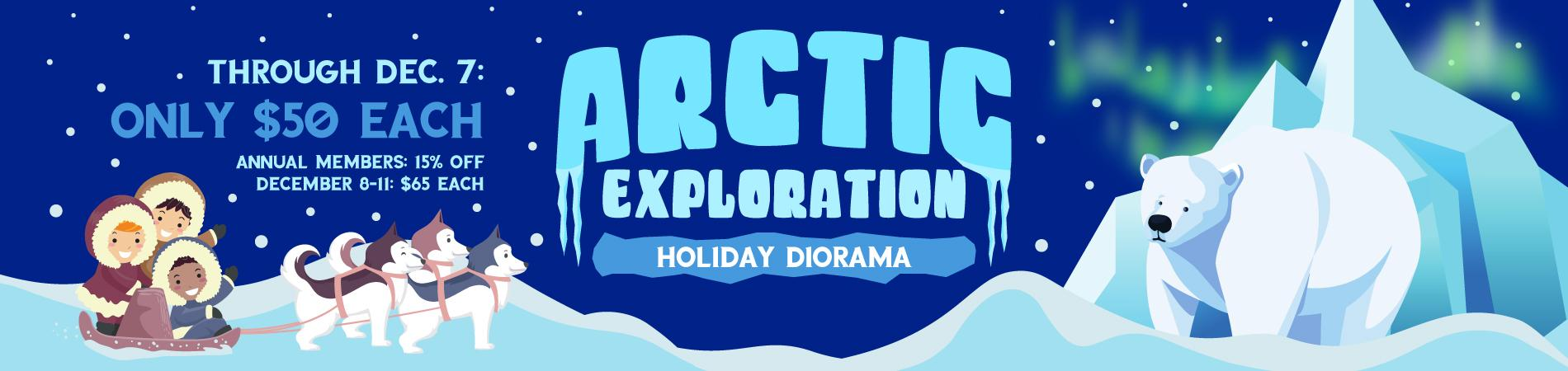 Arctic Exploration Holiday Diorama